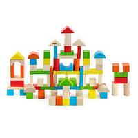 """Набор строительных блоков Viga Toys """"Город"""", 80 шт., 2,5 см (50333)"""