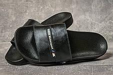 Шлепанцы мужские 17591, BMW Motorsport, черные, < 40 43 > р. 40-26,7см., фото 3