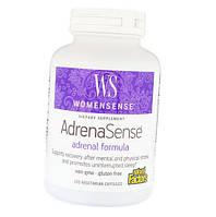 Комплекс для поддержки надпочечников Natural Factors WomenSense AdrenaSense 120 капсул (108579) Фирменный