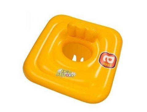 Плотик Bestway детский желтый 69х69см. 32050 (12)