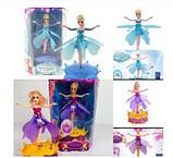 Літаюча лялька фея Frozen 2 види (зі светоми звуком), фото 2