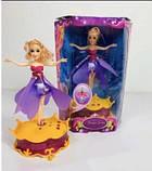 Літаюча лялька фея Frozen 2 види (зі светоми звуком), фото 3