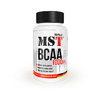 Амінокислоти BCAA MST Nutrition BCAA 1000 (90 капс) (107935) Фірмовий товар!