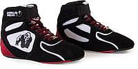 Кроccовки Gorilla Wear Chicago High Tops Black/White/Red