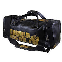 Сумка Gorilla Wear Gym Bag Gold Edition Black