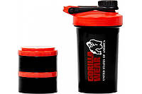 Шейкер Gorilla Wear Shaker 2 GO Black/Red
