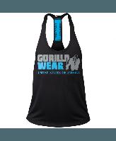 Майка Gorilla Wear Nashville Tank Top Black/Light Blue