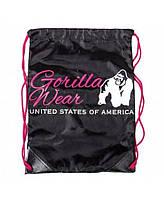 Сумка Gorilla Wear DRAWSTRING BAG BLACK/PINK