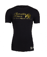 Футболка Gorilla Wear Luka T-shirt Black/Gold