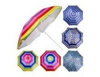 Зонтик пляжный 240см. серебр. МН-0041 (12)