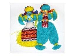 Кукла-мотанка пара средняя Украина