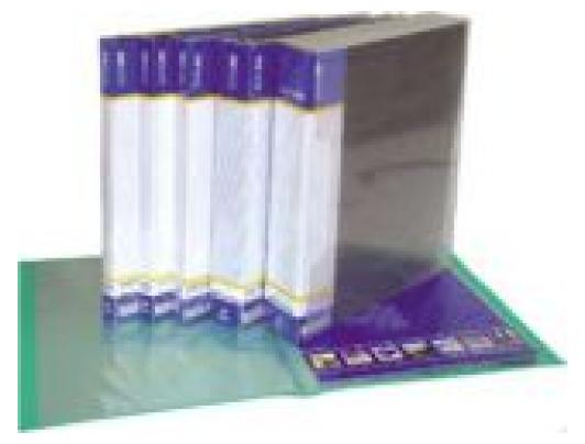 Папка Economix E30602 с 20-ю файлами пласт. А4 (24/144), фото 2