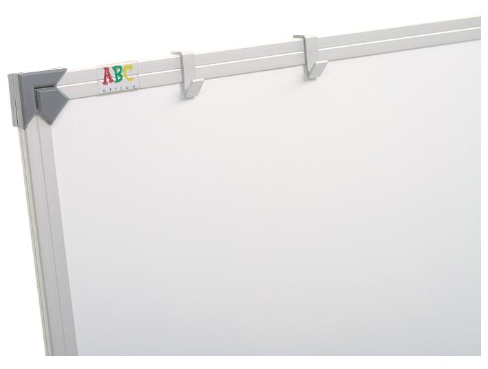 Доска маркерная сухостираемая ABC (400x100) в алюминиевой рамке, трехсекционная [abc_111040]