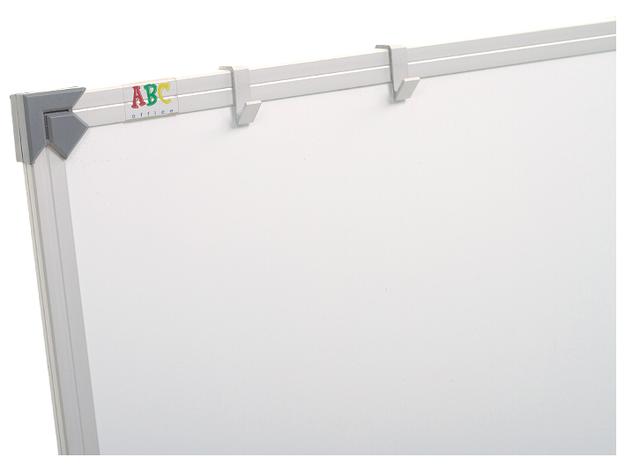 Доска маркерная сухостираемая ABC (400x100) в алюминиевой рамке, трехсекционная [abc_111040], фото 2
