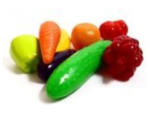 Набор фрукты-овощи (8 предм.) 362 (40)