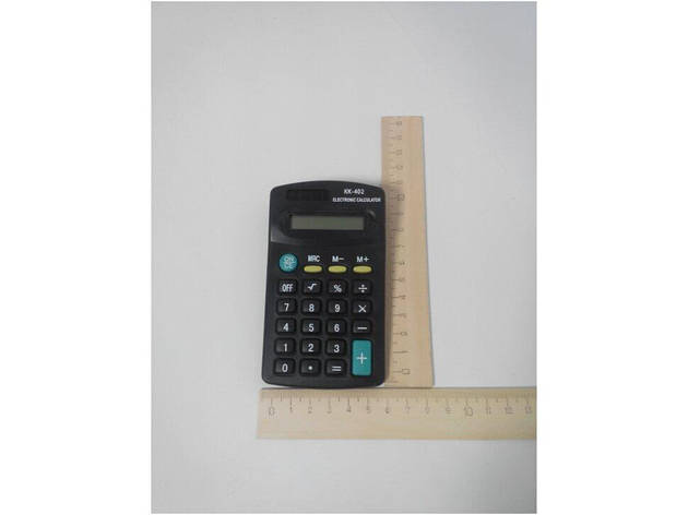 Калькулятор Kenko KK-402 карманный малый 11,5х6,5х2см. (200/400), фото 2