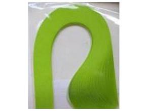 Бумага для квиллинга Рюкзачок №43 неон салатовый 1цв. 3мм.х42см. УП-220 (20)