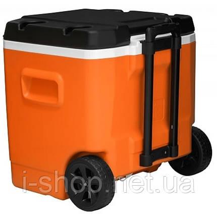 Изотермический контейнер на колесах TRANSFORMER ROLLER 60 л, оранжевый с черным, фото 2