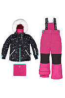 Зимний комплект для девочки Deux par Deux D804-20 682