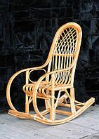 Кресло-качалка плетеное из лозы детское