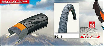 Покрышка, Велошина, Велосипедная шина, Велопокрышка 26 * 1,90 (Н-5113 Антипрокольная 5 Level 5мм Rhino skins,