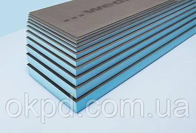 Теплоізоляційна панель WEDI 2500/600/40 мм для хамаму