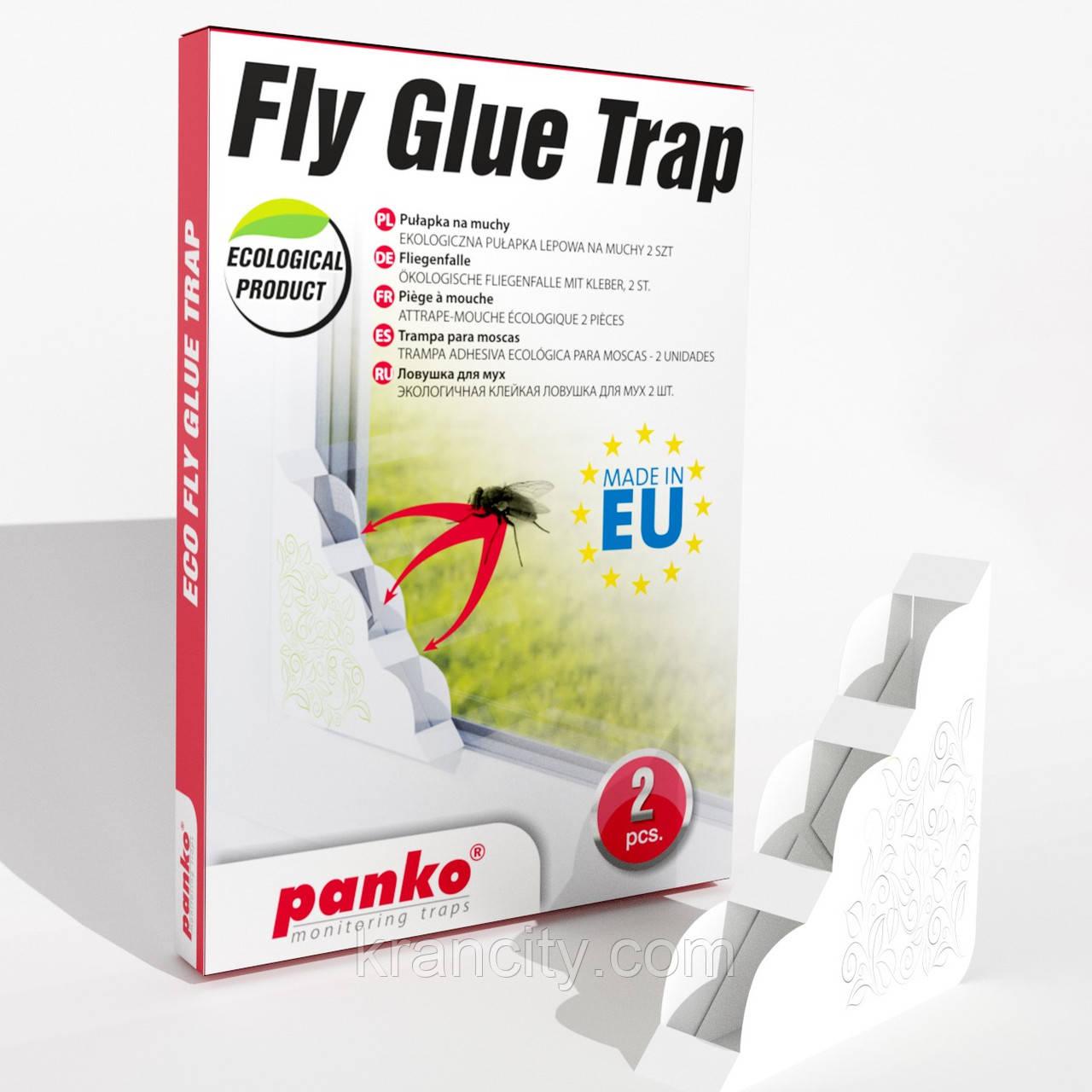 Віконна пастка для мух і мошок Panko (2 шт)