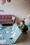 """Детский коврик развивающий термо """"Панда"""" 120х180х1 см, фото 3"""