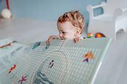 """Детский коврик развивающий термо """"Панда"""" 120х180х1 см, фото 6"""