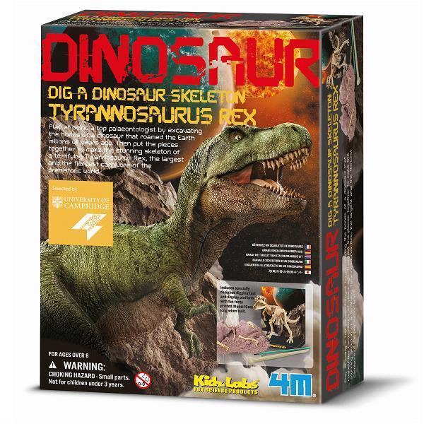 Набор для творчества 4M Скелет тираннозавра (00-03221)