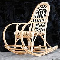 Кресло-качалка из лозы юношеская