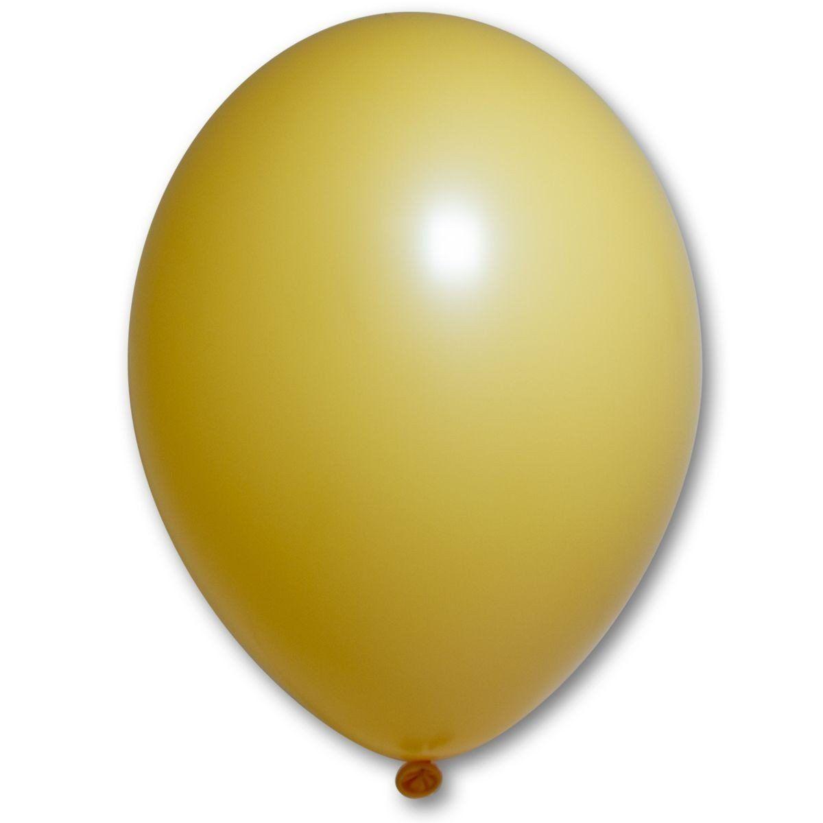 """Латексный шар без рисунка BELBAL 85/015 пастель Охра 10.5"""" 27см"""