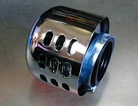 Фильтр нулевого сопротивления диаметр 35мм с колпаком.Дельта,Альфа,Сабур...