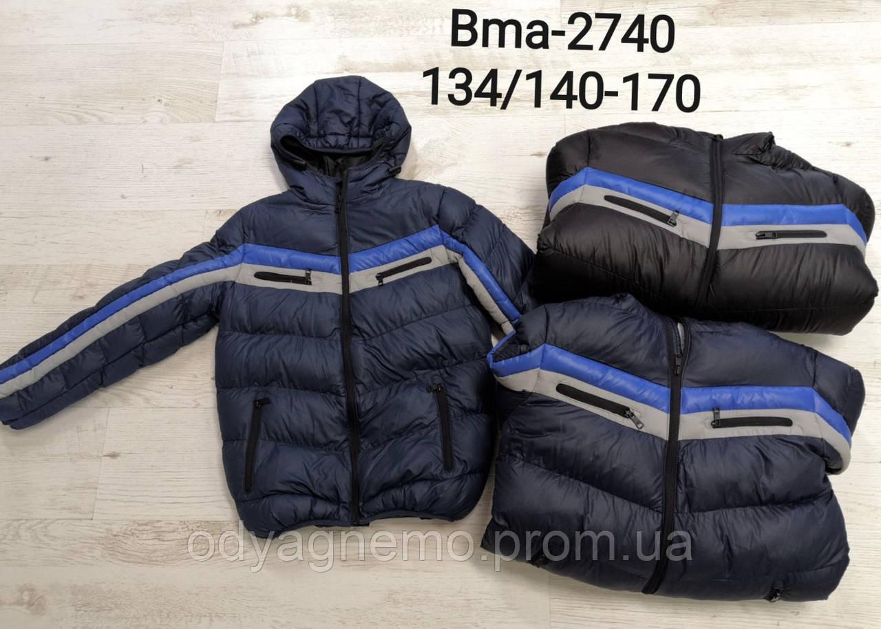 Куртка утепленная для мальчиков Glo-Story оптом, 134/140-170 рр. Артикул: BMA2740