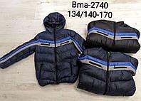 Куртка утепленная для мальчиков Glo-Story оптом, 134/140-170 рр. Артикул: BMA2740, фото 1