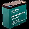 Тяговый свинцово-кислотный аккумулятор LogicPower LP 6-DZM-35