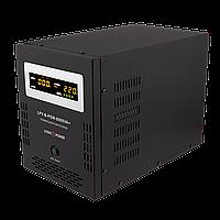 ДБЖ з правильною синусоїда LogicPower LPY-B-PSW-6000VA+(4200W)10A/20A 48V для котлів і аварійного освітлення, фото 1