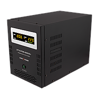 ИБП с правильной синусоидой LogicPower LPY-B-PSW-6000VA+(4200W)10A/20A 48V для котлов и аварийного освещения, фото 1