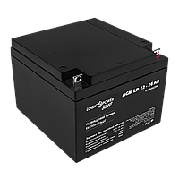 Аккумулятор AGM LP 12V - 26 Ah Silver (2018), фото 1