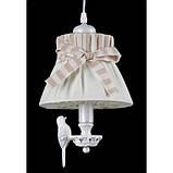 Люстра подвес bird на одну лампочку абажур Itlamp 32225/1p, фото 3
