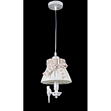 Люстра подвес bird на одну лампочку абажур Itlamp 32225/1p, фото 4