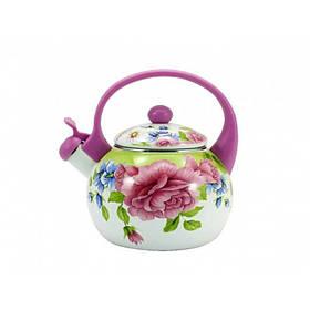 Чайник эмалированный со свистком 2,2 л Пион Zauberg FT 7 22 L