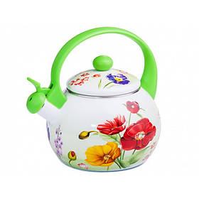 Чайник эмалированный со свистком 2,2 л Мак Zauberg FT7 1/L-Ч (71807)