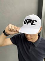 Кепка UFC Reebok мужская | женская рибок белая big black logo, фото 1