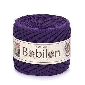 Трикотажная пряжа Бобилон Micro (3-5 мм) Violet Фиолетовый