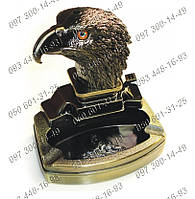 Чистота в доме Пепельница с зажигалкой голова орла №3933 Идеи подарка Пепельница в дом Предмет интерьера