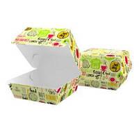 """Упаковка для бургера """"Максі"""" 120*120*93, світла"""