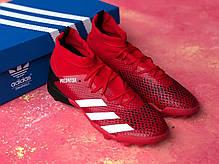 Сороконожки Adidas Predator 20.3/ многошиповки адидас предатор с носком/футбольная обувь, фото 3