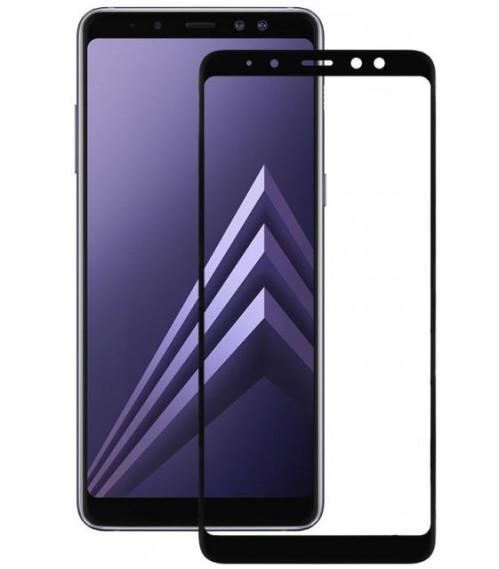 Защитное стекло для Samsung Galaxy A8 (2018) A530 Full Glue (0.3 мм, 2.5D черное)