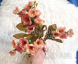 Искусственный букет весенника, 30см, Цвет - на фото (сп7нг-2857), фото 3